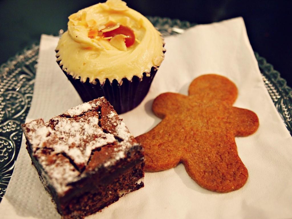 Trio de desserts, Brunch Minoofi Bakery Ma