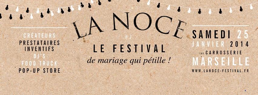 La Noce, le festival du mariage qui pétille !