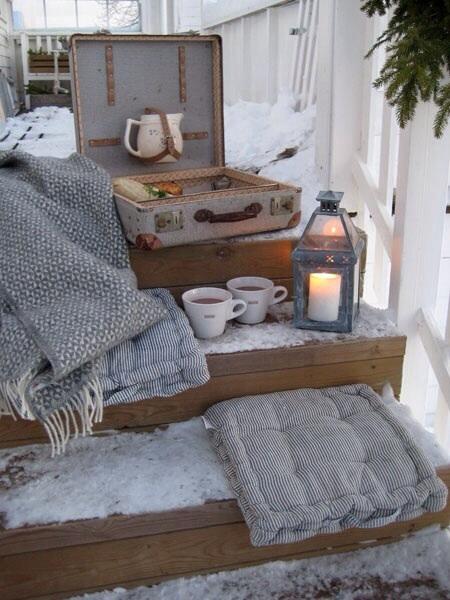 Cocooning Hivernal