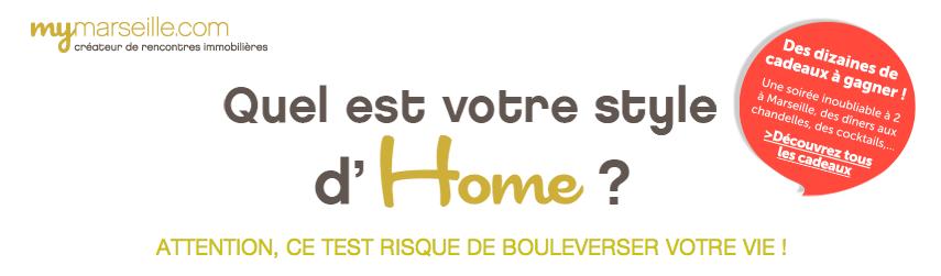 Mymarseille.com & votre style d'HOME !