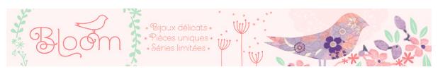 Les jolies Créations Bloom…