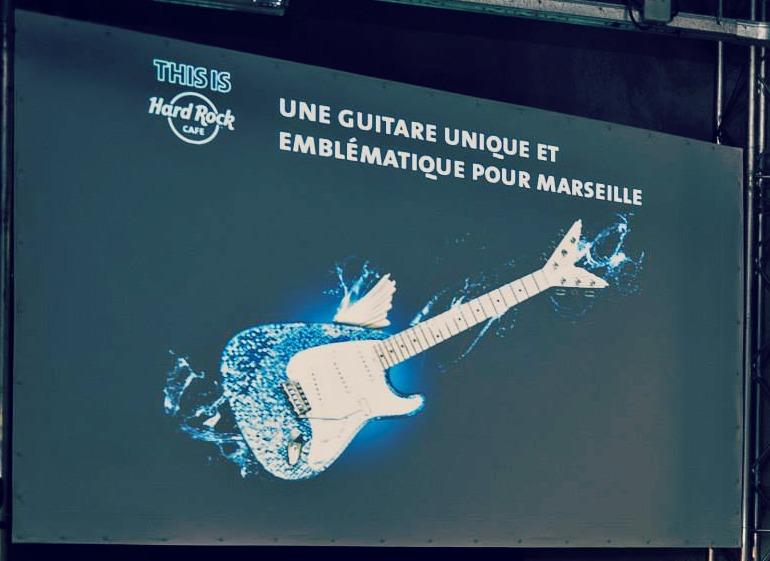 le Hard Rock Café débarque à Marseille...