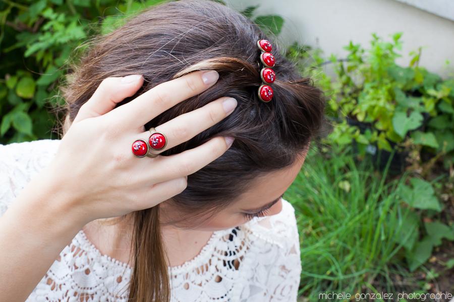 Bijoux et accessoires en mosaïque et fusing: Bloomingday [Concours]