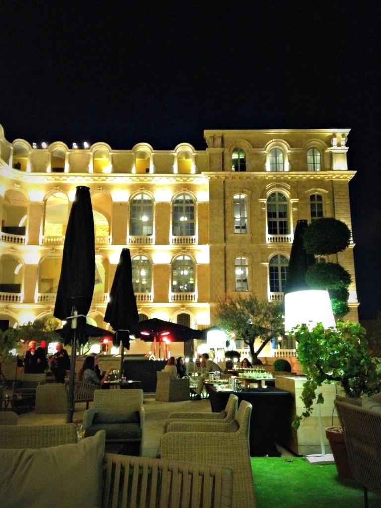 The G'arden, le bar éphémère de l'Intercontinental blog Marseille