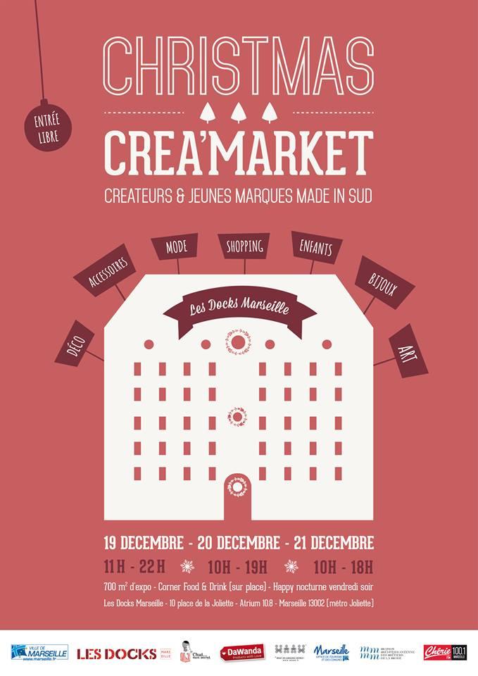 Christmas Créa'Market blog marseille