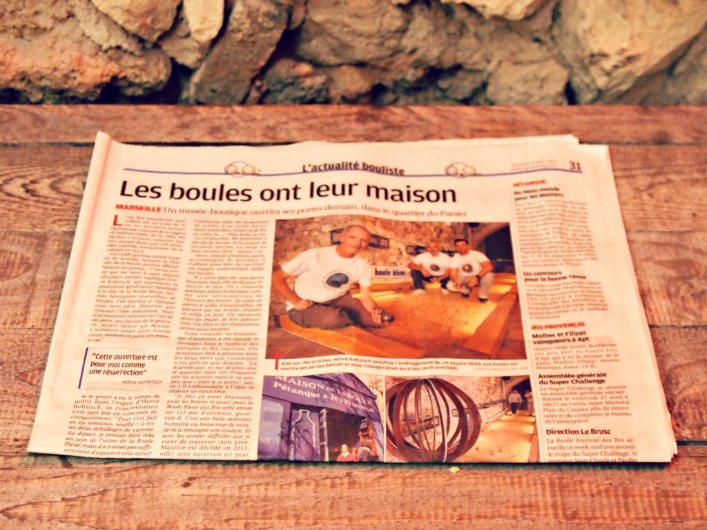 Maison de la boule de pétanque Marseille