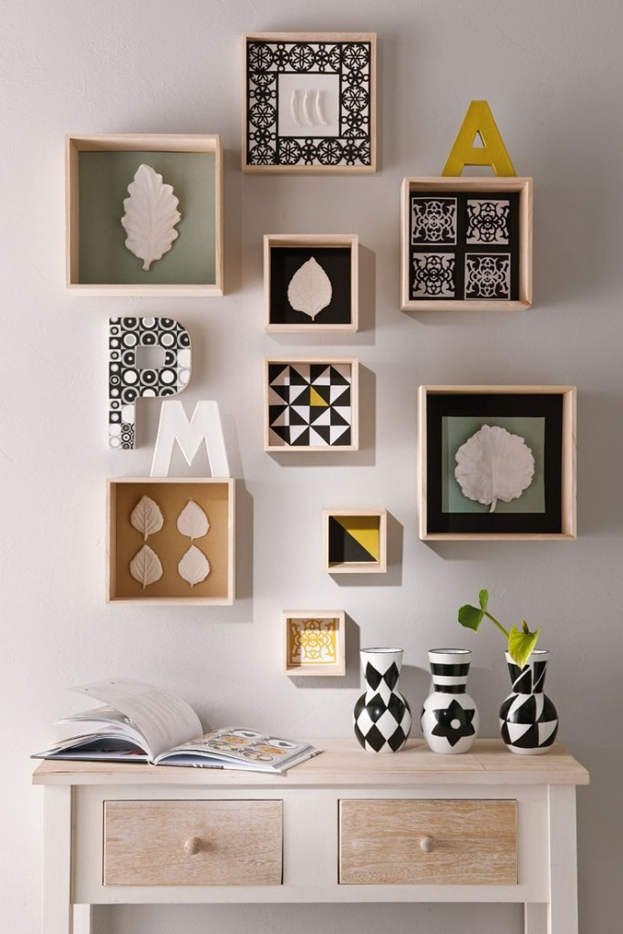 D co redonner vie un mur blanc le mag lire for Decoration simple pour salon