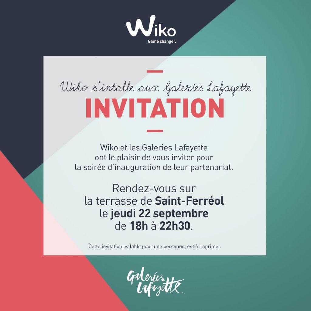 Wiko x Galeries Lafayette blog lifestyle marseille