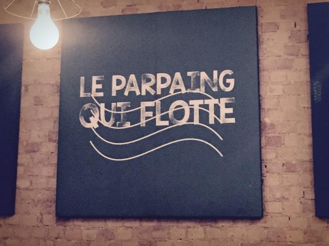 le parpaing qui flotte Marseille