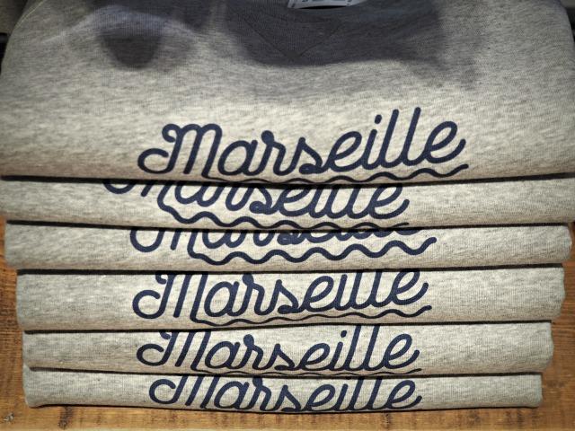 Dans l'oeil de Marseille Galeries Lafayette