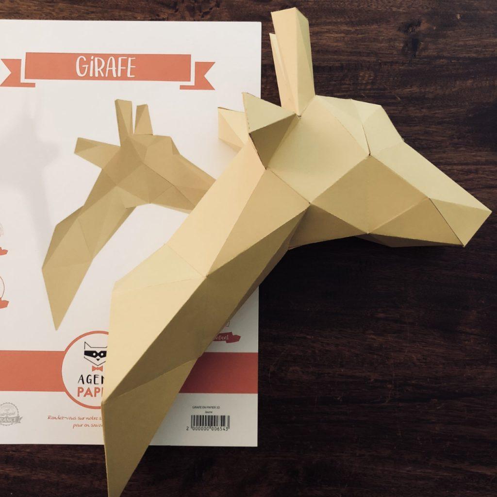 Agent Paper Girafe jaune