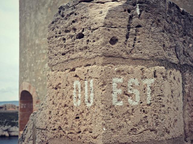 Château d'if un amour de graffiti