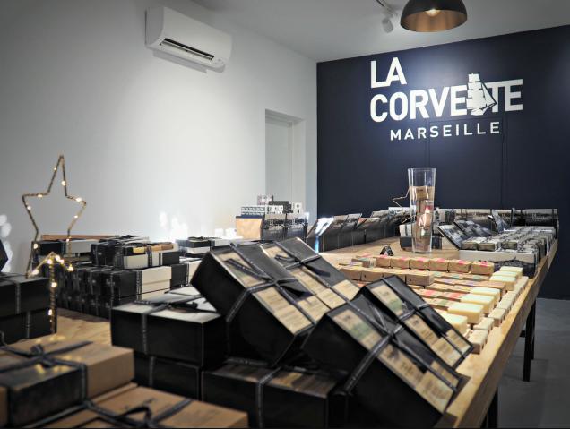 Boutique la Corvette Savonnerie du Midi