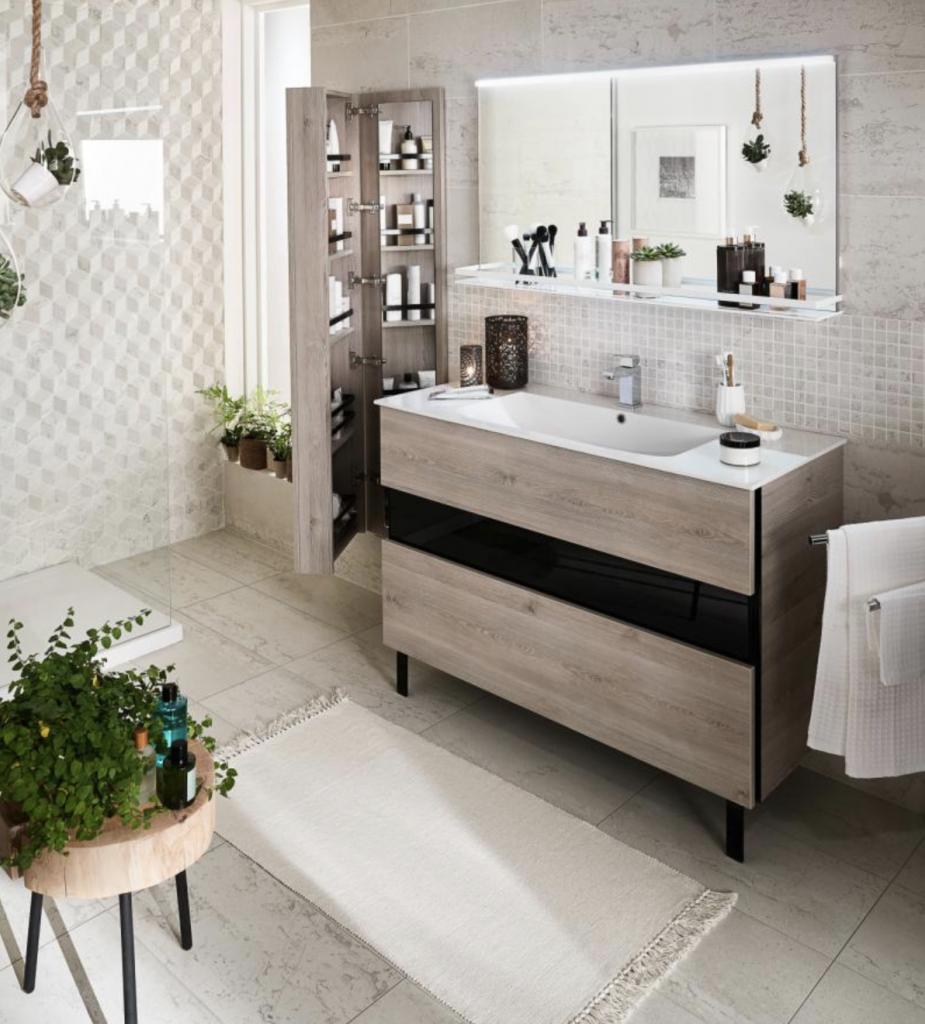 Déco ∼ Une salle de bain Lapeyre sur mesure... – Le Mag à Lire 96856e92cb33