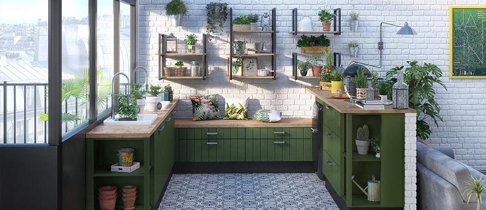 cuisine-garden-soft-couleur-vert-sapin-mat1