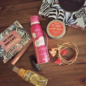Sweetie box blog lifestyle marseille