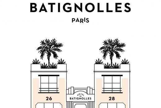 Hôtel des Batignolles Paris