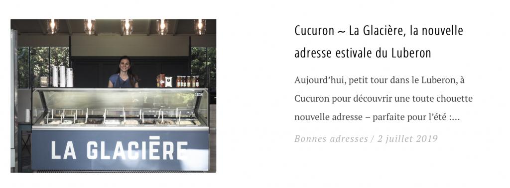Cucuron ∼ La Glacière, la nouvelle adresse estivale du Luberon