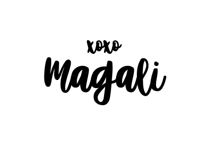 bisous Magali