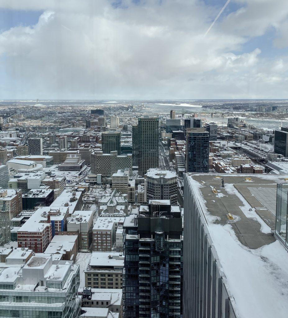 Montréal en hiver